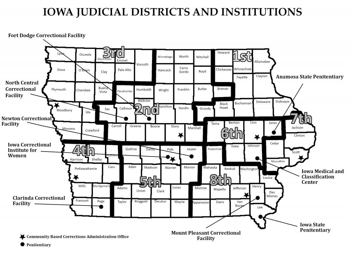 About Community Based Corrections | Iowa Department of